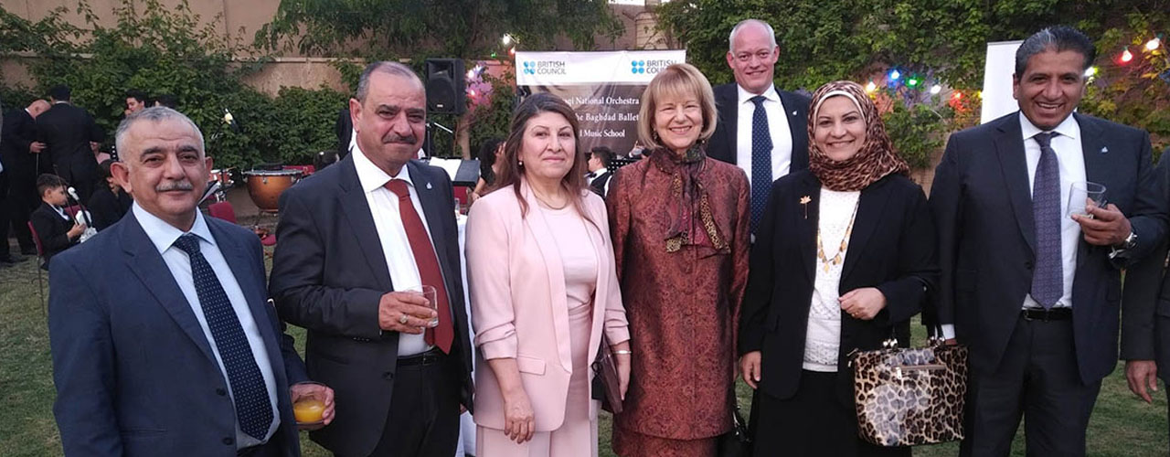 ABG attends Her Majesty Queen Elizabeth II's birthday Celebrations in Baghdad