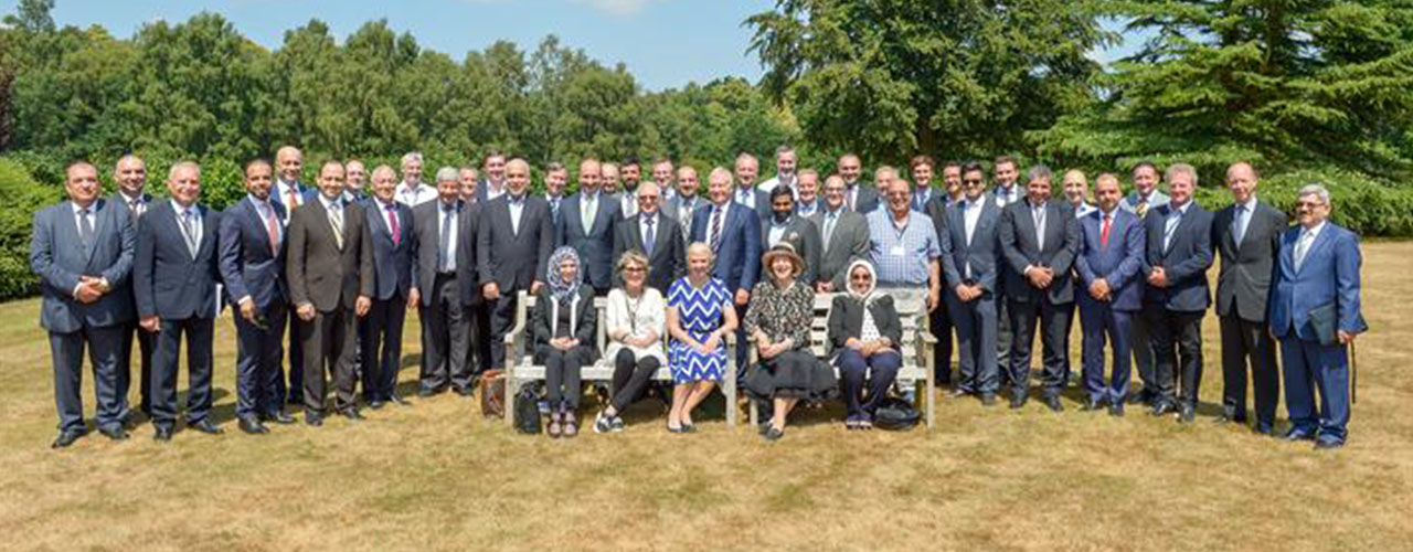 ABG Management attend the Cumberland Lodge Retreat hosted by the IBBC