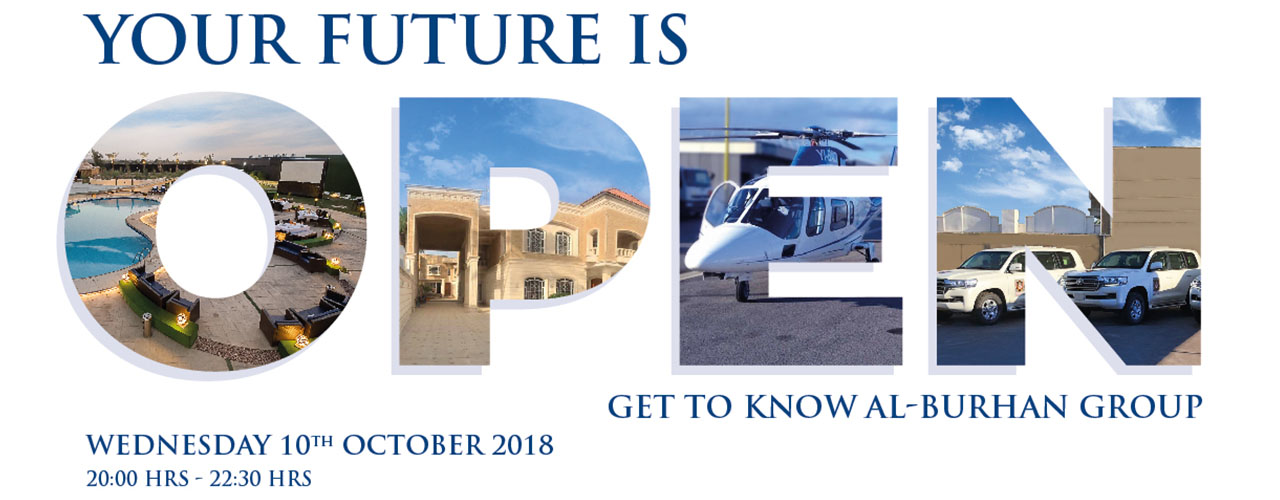 'Get-to-know' Al-Burhan Group open day event 2018